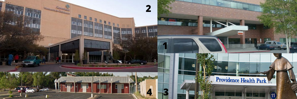 Outpatient and Surgery centers collage
